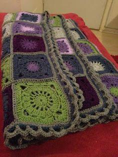 crochet bohemian oasis wool granny square afghan | CROCHET - BOHEMIAN OASIS GRANNY on Pinterest | Crochet Blankets, Oasis ...