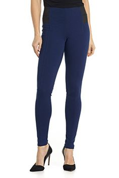 Rekucci Collection Womens Ponte High Waisted Super Slim Fit Pants MediumSapphire *** Find out more about the great product at the image link.