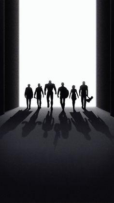 Avengers: Endgame, silhouette, black and dark art, 2160x3840 wallpaper