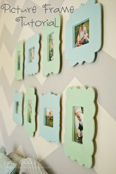 DIY Whimsical Frames