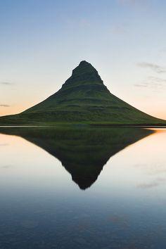 Early morning in Kirkjufell, Iceland