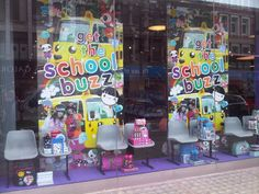 Foam-centred board display made for Paperchase by a printing company called Best Digital.