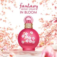 Fantasy in Bloom - Top notes: berries, mandarin, cherry blossom  The fragrance opens with a burst of luscious Berries and juicy Mandarin, mixed with the charm of Cherry Blossom.  Heart: jasmine, osmanthus, tuberose  At the center lies an irresistible floral bouquet of Osmanthus, Jasmine and Tuberose – adding an alluring softness to the scent.  Base: amber, sandalwood, vanilla