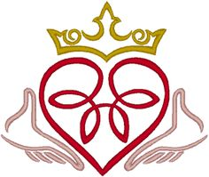 clipart 11949 claddagh with intricate crown claddagh with rh pinterest com claddagh clip art free claddagh clip art pictures