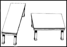 Table Tops Optical Illusion - http://www.moillusions.com/table-tops-optical-illusion/