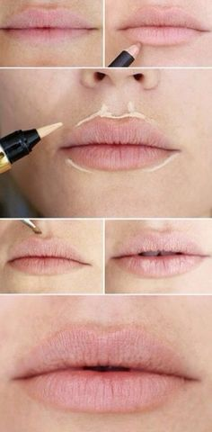 Lip enlargement trick