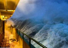 Stunning images show monster waves crashing into the Manly ferry Sydney Ferries, Wall Of Water, Rogue Wave, Ocean Storm, Sailboat Racing, Storm Photography, Riders On The Storm, Stormy Sea, Old Port