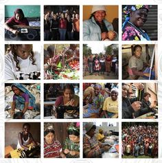Collage of the amazing women artisans I have the joy to work with globally!  Happy International Women's Day!