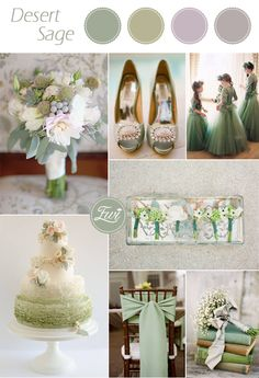 2015 trending rustic pantone desert sage green nude fall wedding color palettes
