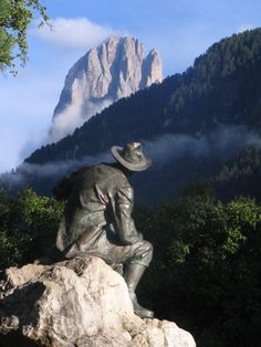 St. Ulrich statue, Italy