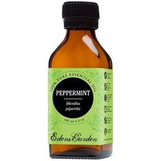 Peppermint 100% Pure Therapeutic Grade Essential Oil by Edens Garden- 100 ml * New and awesome product awaits you, Read it now  : peppermint essential oil