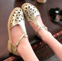 ENMAYER  Women sandals, Flat sandals, fashion flat shoes, 2014 lady slippers, hollow glitter nest sandals women shoes $55.46 - 59.46