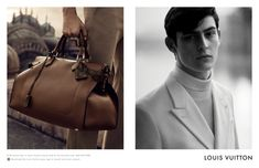 Louis Vuitton Man S/S 2015 ad campaign ft. Rhys Pickering by Peter Lindbergh #RhysPickering #LouisVuitton