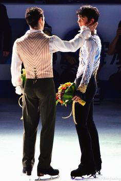 """Javi said to me, """"Even though I am the champion this time round, you are always the champion in my heart"""". <3 In mine, too!"""