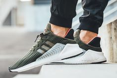 """adidas Drops the ClimaCool in """"Night Cargo"""" Adidas Runners, Workout Shoes, Clothing Labels, Designer Shoes, Sneakers Fashion, Sportswear, Cool Style, Adidas Sneakers, Street Wear"""