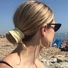Young Frankk Outline Earrings @stylememos