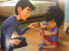 OMG LOOK AT TINY HIRO!!! I CAN'T EVEN GET OVER HOW ADORABLE HE IS!!! I JUST CAN'T ANYMORE!!! WHAT IS AIR???