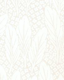 Tapet Trädgård Vit/Champagne från Lim & Handtryck
