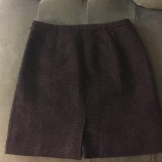 Ann Taylor woven skirt Petite business skirt Ann Taylor Skirts