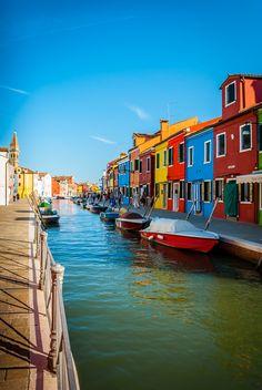 Burano Island (Venice), Veneto, Italy