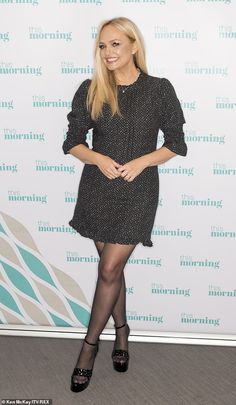 Emma Bunton reveals Michael McIntyre found lingerie purchases on phone Emma Bunton, Holly Willoughby Legs, Michael Mcintyre, Baby Spice, Quoi Porter, Tv Girls, Pantyhose Outfits, Black Milk Clothing, Stockings Lingerie