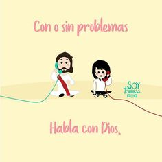 Habla con Dios #consejoscristianos Gods Love Quotes, Quotes About God, I Love You God, God Is Good, Christian Love, Christian Quotes, Christian Messages, God Loves Me, Jesus Loves Me