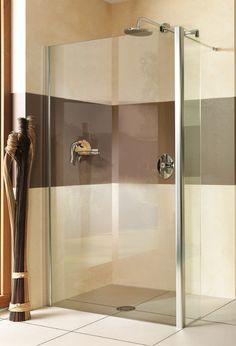Breuer Entra Duschwand Alleinstehend mit festem Element