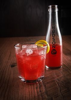 I spoke with Bill Denhard, the beverage manager at Hudson 29, and he gave me a run-down of how they make these innovative concoctions in-hou...