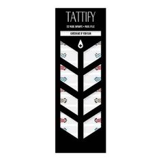 Tattify Dreamcatcher Nail Wraps - Catch Me If You Can (Set of 22)