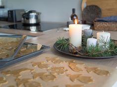 Ensimmäiset piparkakut tehtiin ekana adventtina.. Joulunaika! <3