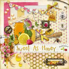 Raspberry Road Designs: Sweet As Honey Collection & Free Mini Kit