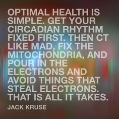 IS KETOSIS A CURE OR TOOL FOR A BROKEN MITOCHONDRIA? | Jack Kruse | LinkedIn