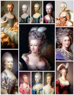 The many faces of Antoinette.