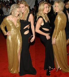 Olsen Gold Dress