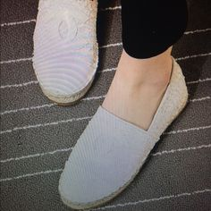 Espadrilles IF YOU LIKE THIS I CAN GET YOUR SIZE                                                                 New.   Not authentic very comfortable.                Size is 7/12.    THIS ARE SOLD CHANEL Shoes Espadrilles