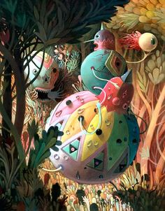 Surrealism and Visionary art: Charlie Immer