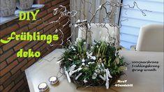 DIY Frühlingsdeko für den Tisch I Frühlingskranz I voorjaarskrans I Spri...