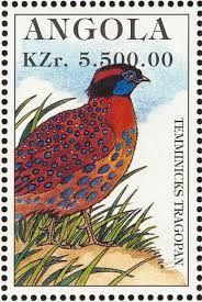 Resultado de imagen de selos valiosos angola