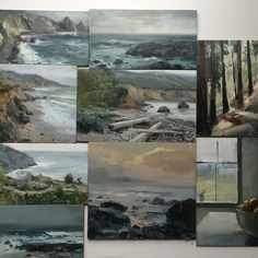 Just updated my bigcartel with a handful of new seascapes. (Link is in the profile)#bigsur by jeremy_miranda_