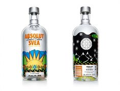 Exclusive - Absolut Vodka Limited Edition Bottles |