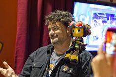 PAX 2012 Raz meets Tim Schafer by AnnaTheRed