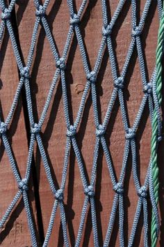 Knotted Netting Knots And Sailing Pinterest Knots