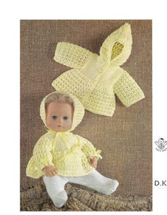 doll outfits dk knitting pattern 99p pdf - http://www.babies-clothes.info/doll-outfits-dk-knitting-pattern-99p-pdf.html