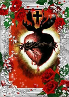 O most sacred heart of Jesus,we adore You and love You