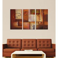 @Overstock - 'Abstract 11' 3-piece Canvas Art Set - This colorful three-piece canvas art print from an unknown artist will spruce up any drab wall. Abstract 11 features bold colors in a gorgeous abstract print. This print comes in three pieces and together makes one artistic art piece.  http://www.overstock.com/Home-Garden/Abstract-11-3-piece-Canvas-Art-Set/5133346/product.html?CID=214117 $169.99