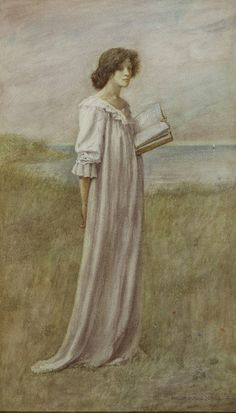 Beside a Summer Sea - Philip Burne-Jones  1894
