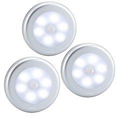 URPOWER Motion Sensor Light, Motion-sensing Battery Powered LED Stick-Anywhere Nightlight,Wall Light for Entrance,Hallway,Basement,Garage,Bathroom,Cabinet,Closet Reviews - http://bestmetaldetector.co/urpower-motion-sensor-light-motion-sensing-battery-powered-led-stick-anywhere-nightlightwall-light-for-entrancehallwaybasementgaragebathroomcabinetcloset-reviews/