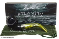 Peterson Atlantic 03 Tobacco Pipe - Fishtail Bit