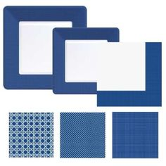 Navy Blue Coordinates - Party at Lewis Elegant Party Supplies, Plastic Dinnerware, Paper Plates and Napkins