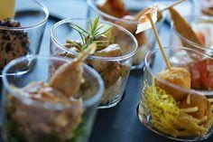 Taberna del chato | Cómo poner los aperitivos para no usar siempre fuentes.